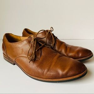 Clarks 1825 Leather Lace Up Oxford Shoes